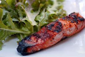 Gluten free soy free dairy free grilled salmon