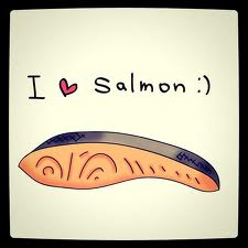 Healthy Diet Plan Includes Salmon